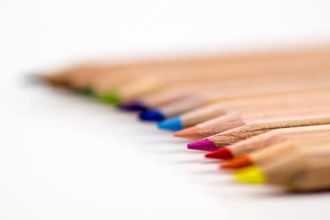 Farben verwenden im Lebenslauf