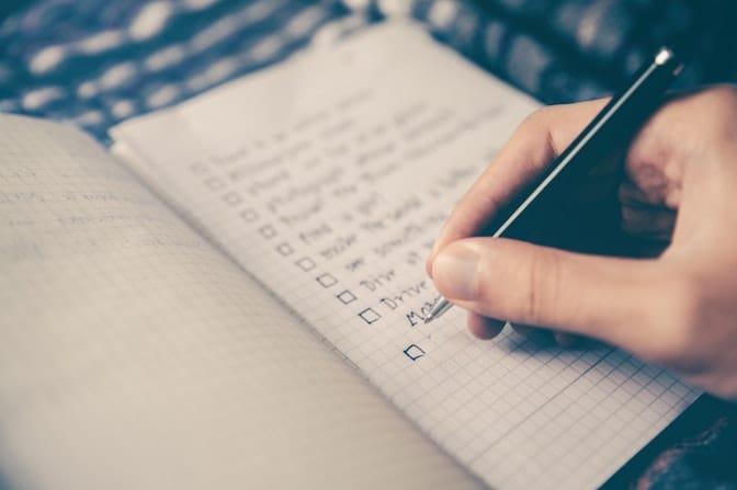 Liste der schlimmsten Fehler im Anschreiben